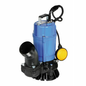 Nib Tsurumi Hsz3 75s 2 Automatic Submersible Trash Pump 3120gph 1 2hp
