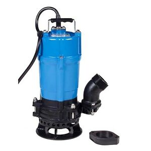 Nib Tsurumi Hsd2 4s 2 Electric Submersible Trash Pump 3480gph 3 4hp
