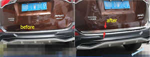 Accessories For Toyota Rav4 2013 2015 Rear Trunk Boot Tailgate Lid Cover Trim