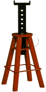 10 Ton High Boy Heavy Duty Jack Stand 18 To 30 T E Tools Js010b New
