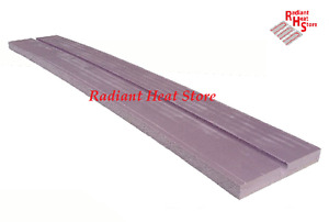 8 pack Radiant Floor Heat Xps Foam Sleeper Panels For 1 2 Barrier Pex