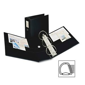 Avery Durable Slant Reference Binder With Label Holder Ave08901
