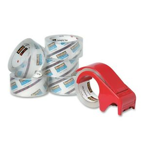 Scotch Heavy Duty Shipping Packaging Tape Value Pack With Handheld Dispenser
