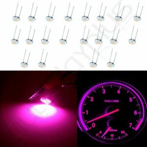 20x Purple Instrument Cluster Led Light Kit For 03 04 05 06 Silverado Backlight