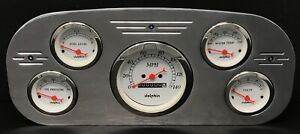 1935 1936 Ford Truck Gauge Cluster White