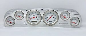 1957 1958 1959 1960 Ford Truck 6 Gauge Dash Cluster White
