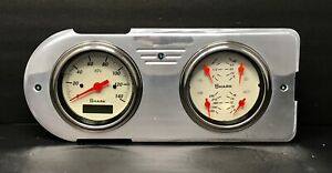 1948 1949 1950 Ford Truck Gauge Cluster Quad Shark