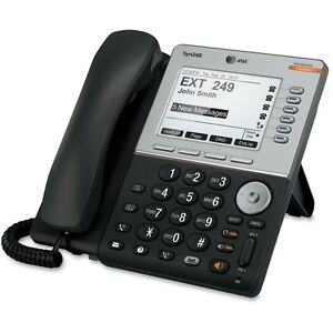 At t Syn248 Sb35031 Ip Phone Wireless Desktop Wall Mountable Attsb35031