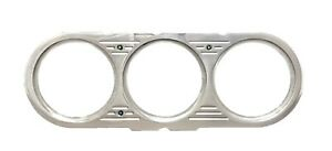 1963 1964 1965 Chevy Nova 3 Gauge Billet Insert