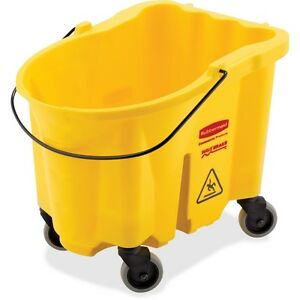 Rubbermaid Commercial Wavebrake Bucket Rcp747000yelct