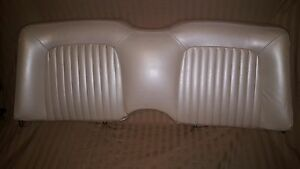 1961 1963 Thunderbird Rear Seat Top And Bottom Original Great Condition