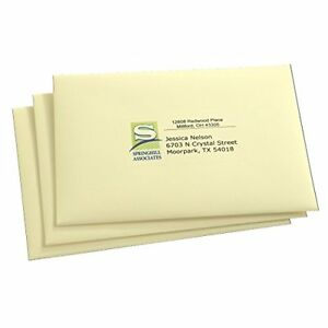 New Avery Easy Peel 1 2 X 1 3 4 Inch Clear Return Address Labels 2000 Pack 5667