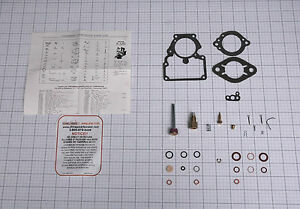 1938 40 Carb Kit Stromberg 1 Barrel Bxo Carbs 6 69 6 84 Studebaker 6 Cyl New