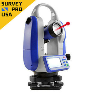 New Five second Electronic Digital Laser Theodolite Surveying Construction