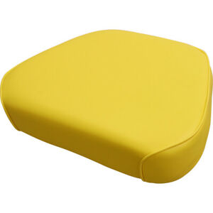 Amjd2020b Seat Cushion Yellow Vinyl For John Deere 1020 1520 1530 Tractors