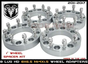 8x6 5 Wheel Adapters 1 Fits Chevy Ram 8 Lug Heavy Duty Wheel Spacers