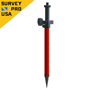 Telescopic Mini Prism Pole W precise Tip For Stakeout Total Station Prism Survey