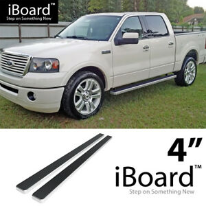 4 Running Boards For 04 08 Ford F150 Supercrew Cab excl 04 Heritage Edition