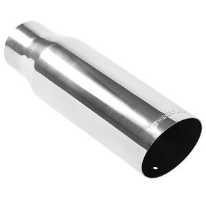 Magnaflow 35205 Exhaust Tip 2 5in Inlet 12 Long 3 5 Outlet Stainless Steel