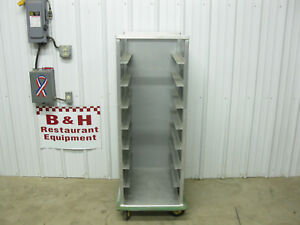 Cres Cor Closed Sides Mobile Bakery Hospital Food 16 3 4 Tray Rack Cabinet Cart