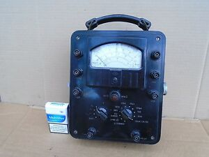 Vintage Russian Volt Ohm Meter Big Bakelite Housing Soviet