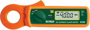 Extech Dc400 Clamp Meters Type Standard Style True Rms No