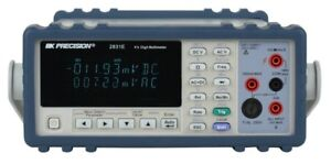New Bk 2831e 4 1 2 Digit True Rms Bench Digital Multimeter Us Authorized Dealer