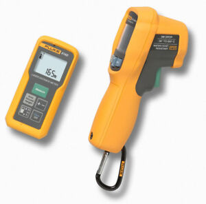 New Fluke 414d 62max Laser Distance Meter And 62max Ir Thermometer