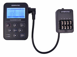 Graphtec Gl100 wl 4vt Data Logger With Voltage Temperature Input Module