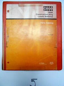 Case 580k Construction King Loader Backhoe Parts Manual Catalog Book 8 3461 2 86