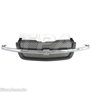 New Front upper Grille For Chevrolet Gm1200489 19168629