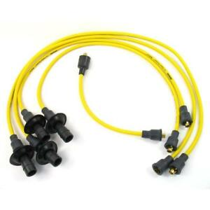 Pertronix Spark Plug Wire Set 704501 Flame Thrower 7mm Yellow For Volkswagen