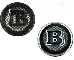Black Grille Badge For Mercedes G Gl Ml Class W463 X166 W166 Brabus Style