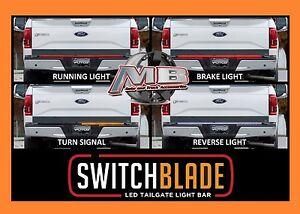 Putco 92009 60 Switchblade Led Tailgate Light Bar New Led Red Amber White