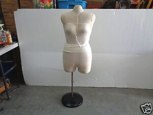 Female Torso Soft Cushion Retail Display Sewing Tailor Dress Form Mannequin