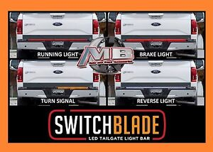 Led light bar 60 in stock ready to ship wv classic car parts and putco switchblade led putco switchblade led tailgate light bar mozeypictures Image collections
