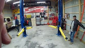 New Bendpak Xpr 10as Lp Asymmetric 10 000 Pound Capacity 2 Post Truck Car Lift