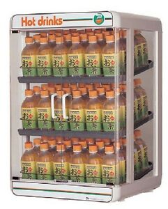 Electric Plastic Pet Bottle Warmer Display Case 3tiers Type2 Made In Japan