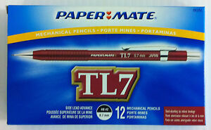 Papermate Tl7 Drafting Mechanical Pencil 0 7mm Box Of 12