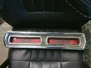 1966 Pontiac Catalina Star Chief 2 2 Rh Passenger Tail Light Oem