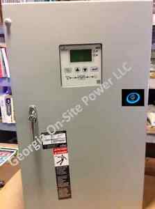 200 Amp Nema 1 Asco 300 Series 3 Phase 208 240 480 Vac Automatic Transfer Switch