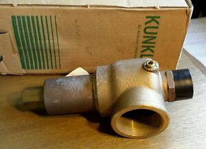 Kunkle 912bhgm01 Vacuum Relief Valve 1 5 Mpt 2 5 Fpt New 399ea