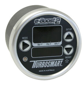 Turbosmart Eboost2 eb2 Electronic Boost Controller 60mm Black silver