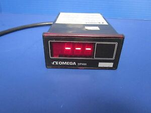 Omega Dp460 Temperature Meter Thermocouple Input 115v Used