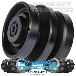 One 6689371 Bobcat Lower Bottom Middle Roller Fits T190 Rubber Track Machine