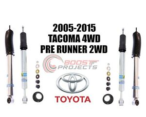 Bilstein 5100 Front Rear Shock Absorber Set For 2005 2015 Toyota Tacoma