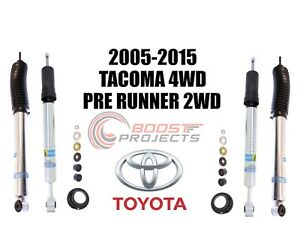 Bilstein B8 5100 Adjustable Front Shocks W Rear Set For 2005 2015 Toyota Tacoma