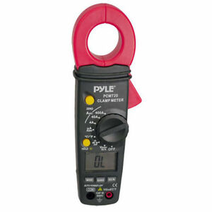 New Pyle Pcmt20 Digital Ac dc Auto ranging Clamp Meter
