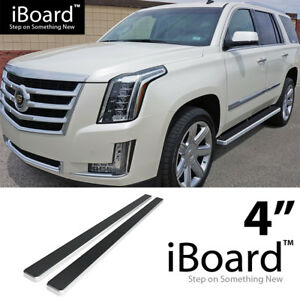 4 Running Boards For 00 18 Chevy Tahoe Gmc Yukon 01 18 Cadillac Escalade