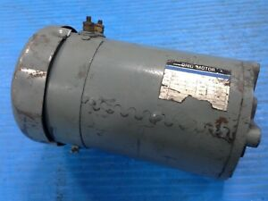 Refurbished Ohio Motor C 491508x7525 Dc Pump Motor 27g